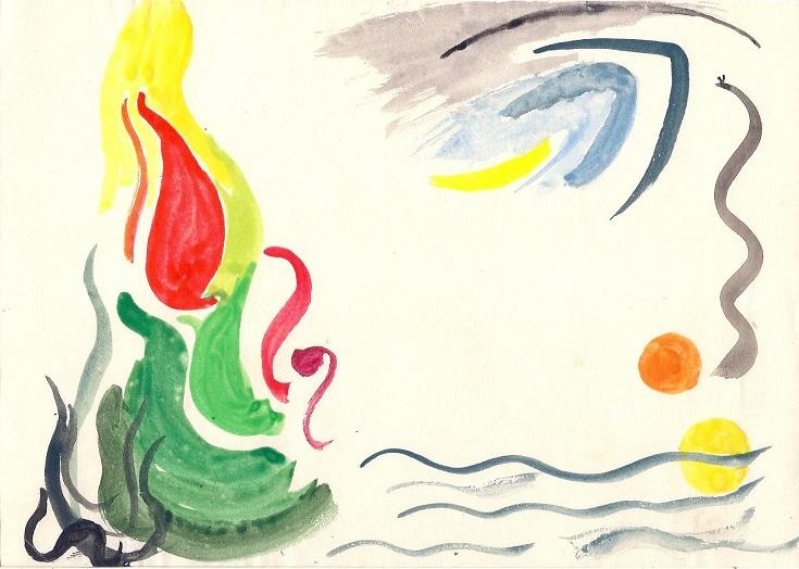 Zeichnungen - 015, 45p