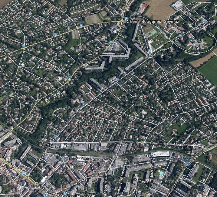 80p La SEYMAZ - Chêne-Bougeries - Chêne-Bourg, Genève